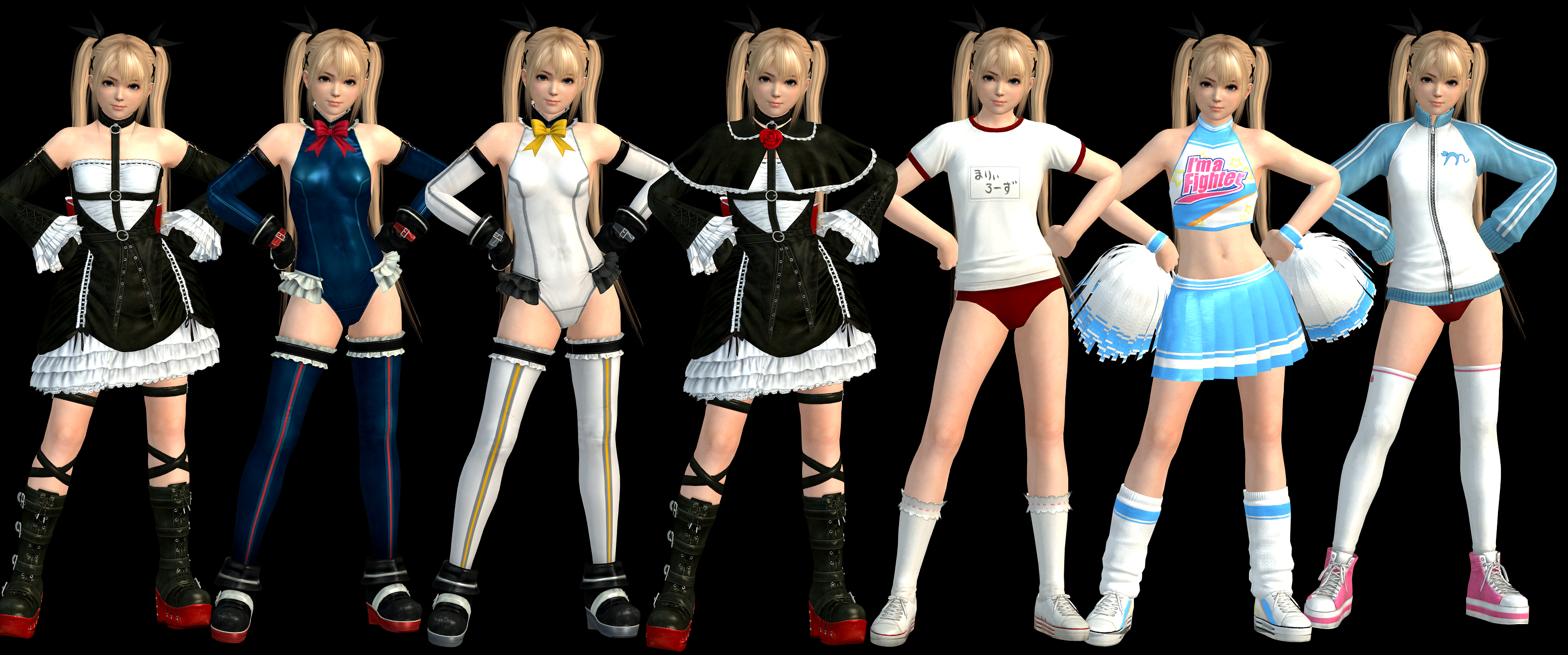 Marie Rose XNALara Costumes by Chrissy-Tee on DeviantArt