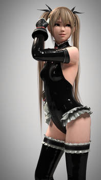 Marie rose 1 (Black Latex)