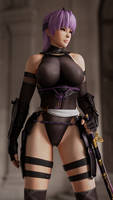 Ayane PBR Shader Test by Chrissy-Tee