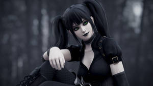 Goth Girl 1c