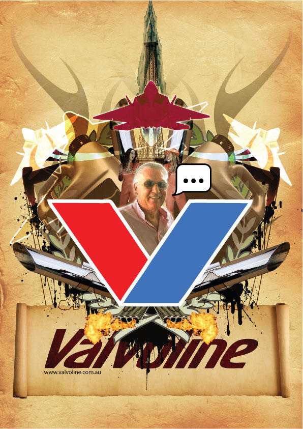 Valvoline Mock Ad by butterfield123