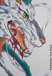 Haku the Dragon __coloured