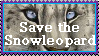 Snowleopard _ Stamp by TheKarelia