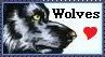 Wolf Stamp by TheKarelia