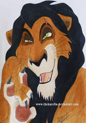 Scar from TLK by TheKarelia