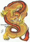 Commissioned Dragon Tattoo Design
