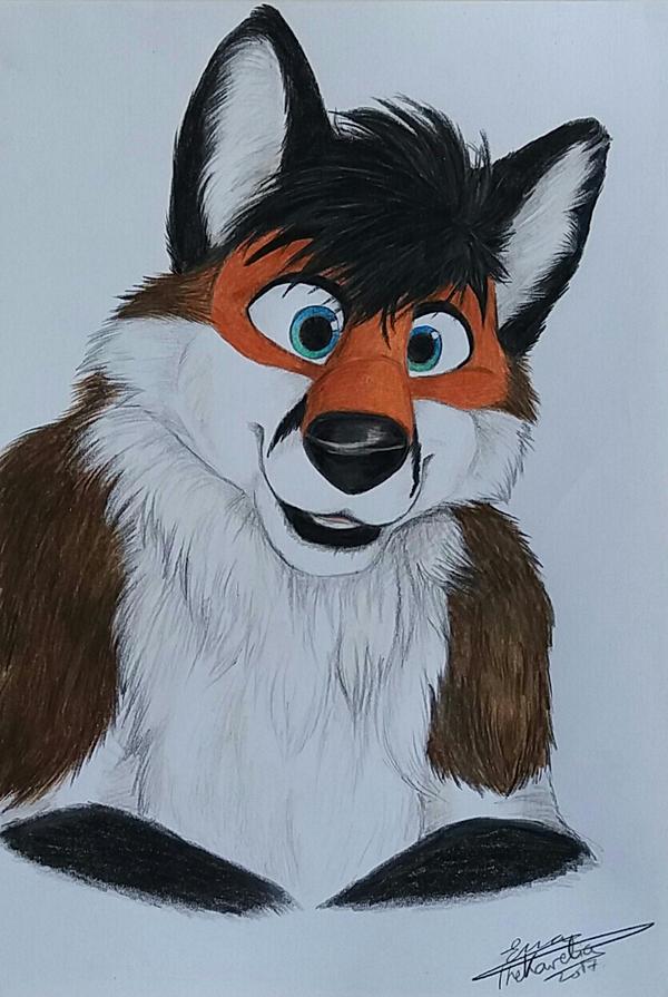 TobyFox Fursuit Portrait by TheKarelia