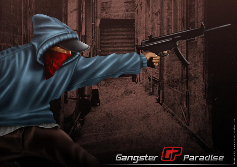 Gangster Paradise Poster 2 by ochie4