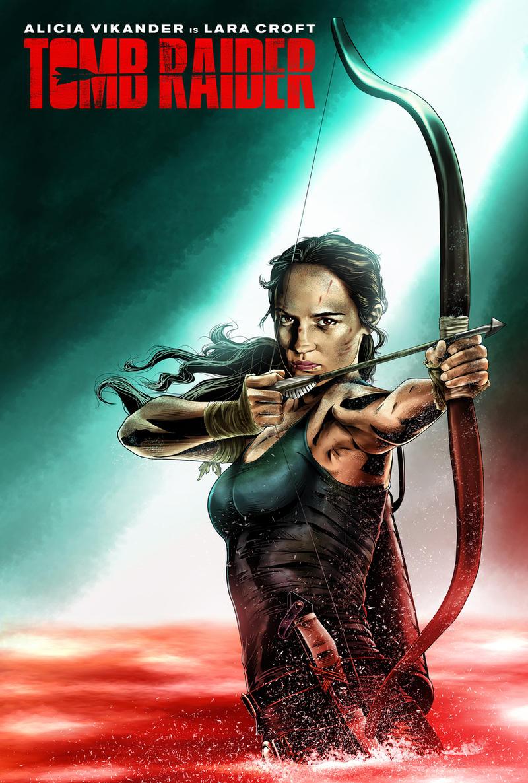 Tomb Raider Movie 2018 Poster 01 By Ochie4 On Deviantart