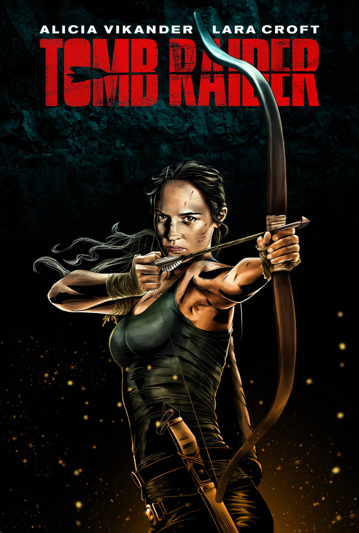 Tomb Raider Movie 2018 Poster 02 by ochie4