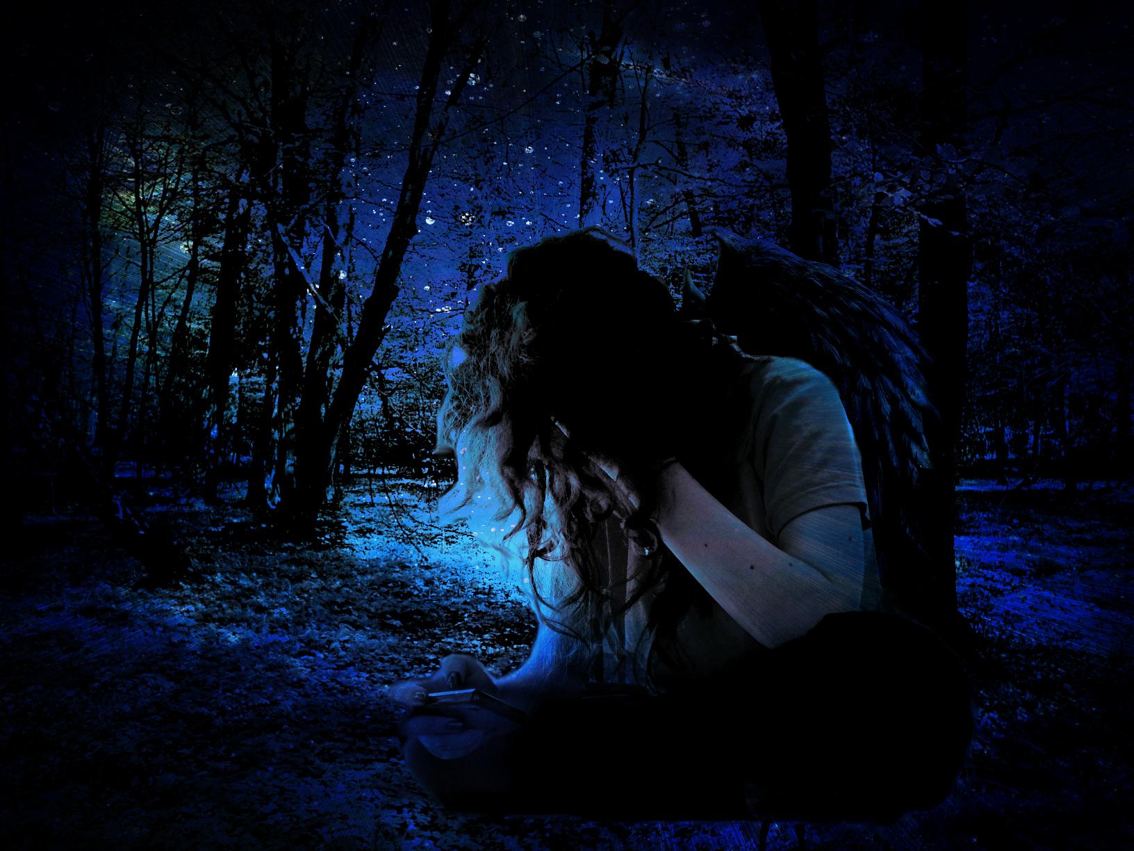 Http Nicorleeah Deviantart Com Art Dark Angel 252495079
