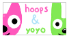 Hoops n' Yoyo -STAMP- by CranberryNoodles