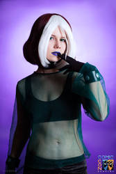 X-Men: Evolution Rogue cosplay by AppleAnarchy