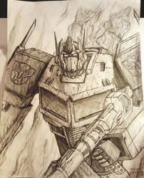 Optimus Prime by im-a-noob-damnit