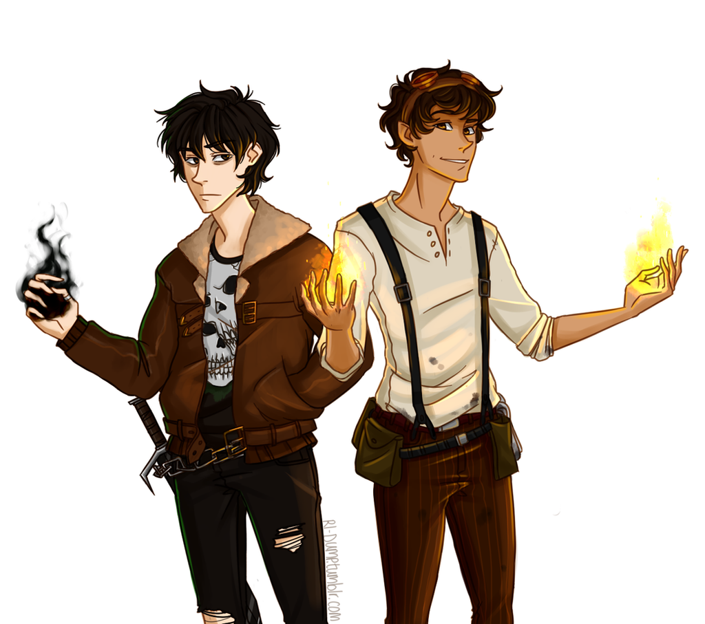 Leo and Nico by Riding-Lights on DeviantArt