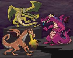 3 Dragon Designs by Stnk13