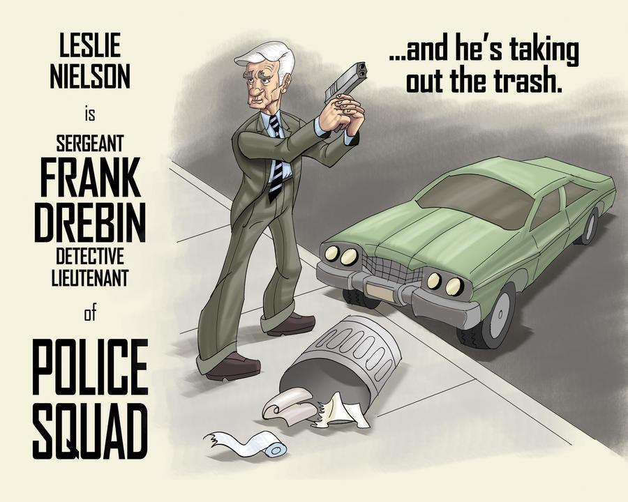 Frank Drebin of Police Squad by Stnk13