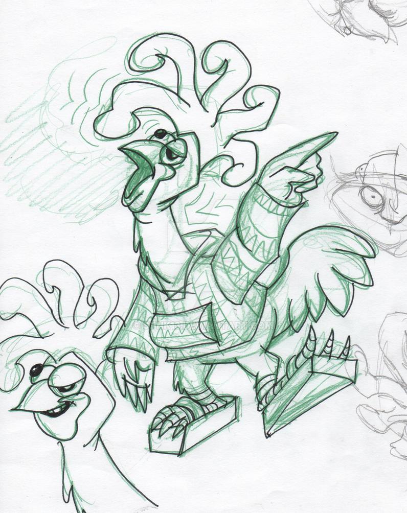 Ken Turkey the Fried Chicken by Stnk13 on DeviantArt