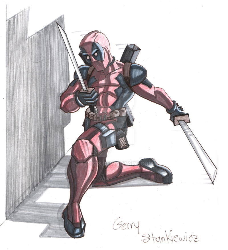 Deadpool by Stnk13