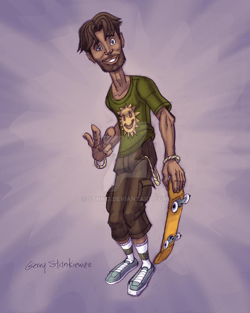 Felipe Character Design by Stnk13