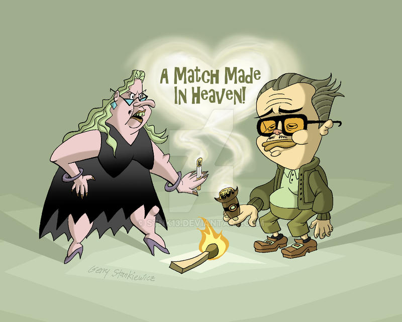 A Match Made In Heaven Revised by Stnk13