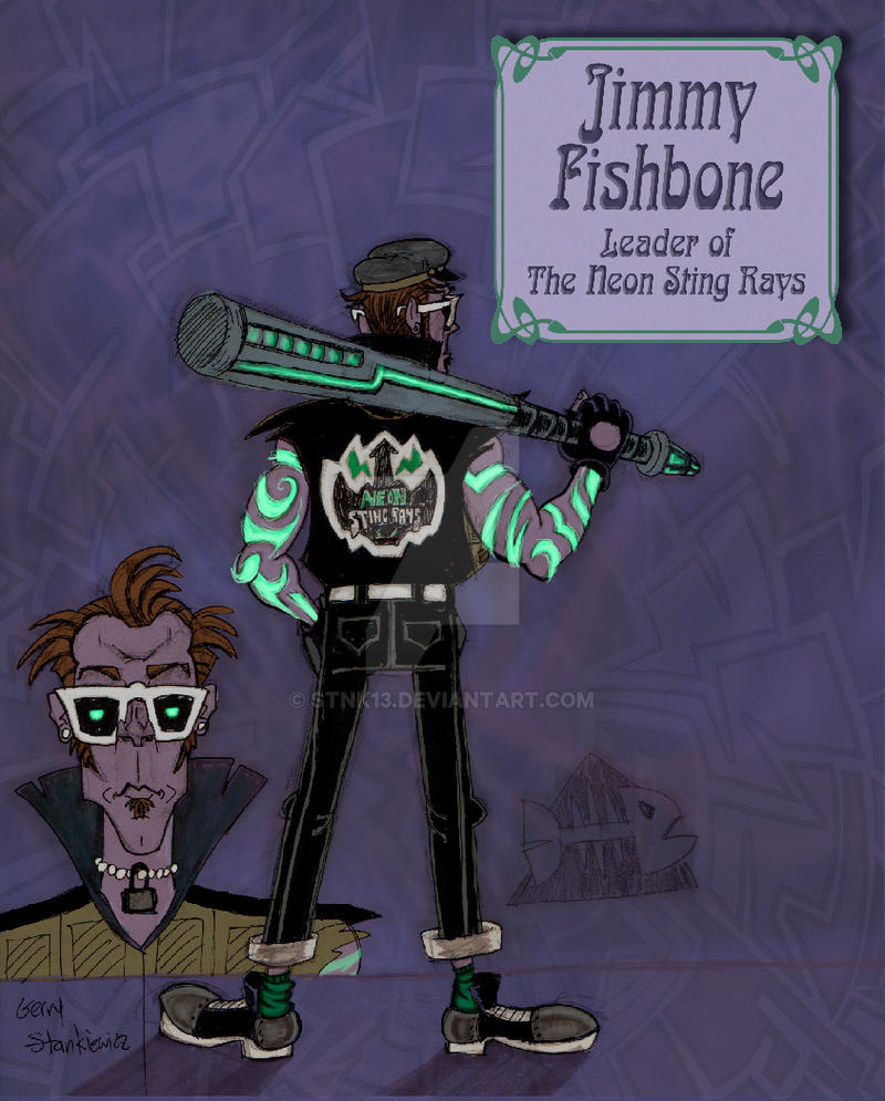 Jimmy Fishbone by Stnk13