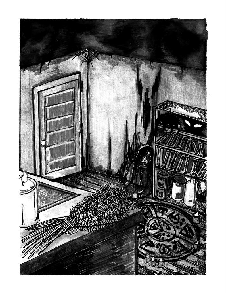 dead witch by borzoigod