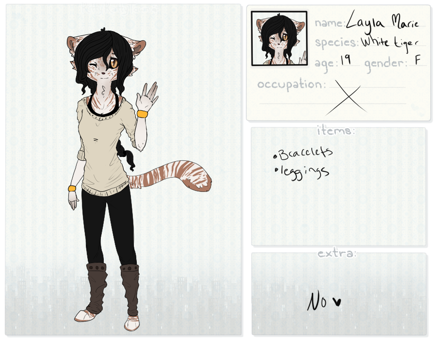 [ KKT - Layla Bates ] by DancingWithDreams