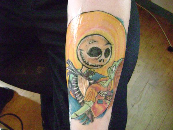 My Jack And Sally Tattoo By SerranaArpegios On DeviantArt