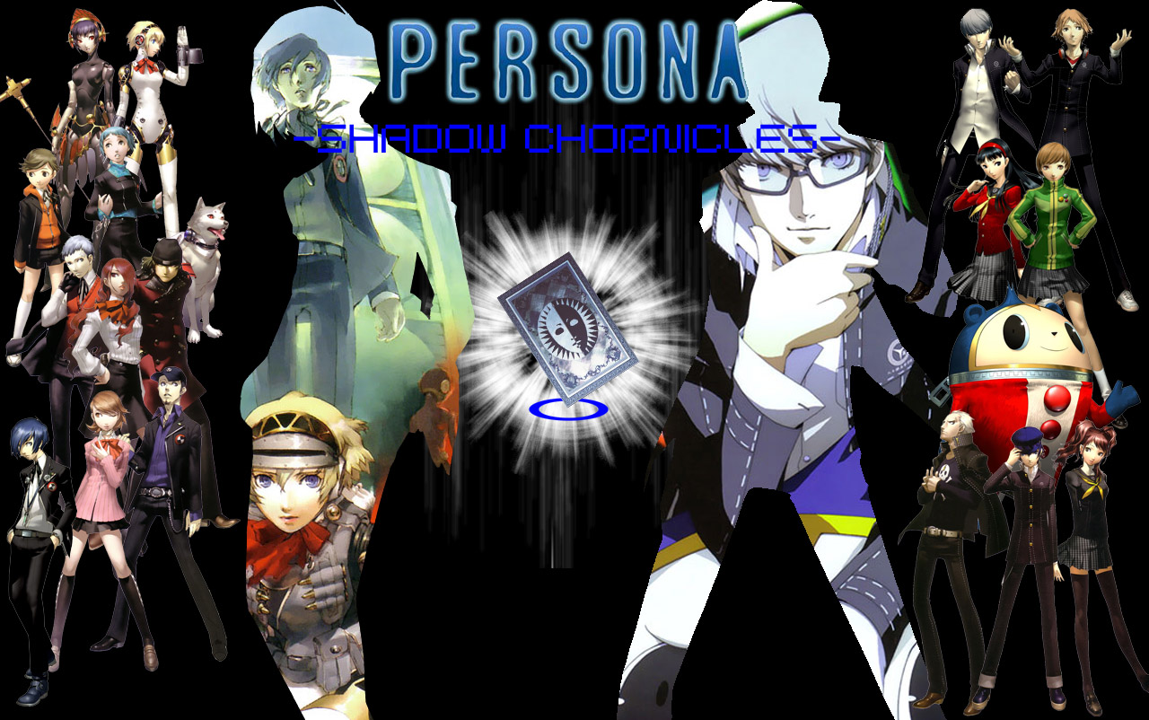 Persona 3 Wallpaper 4k: Persona 3 And 4 Wallpaper By Ornitiadanz On DeviantArt