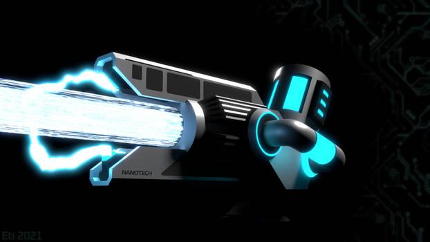 Nanotech Disruptor T10 (Firing Variant)