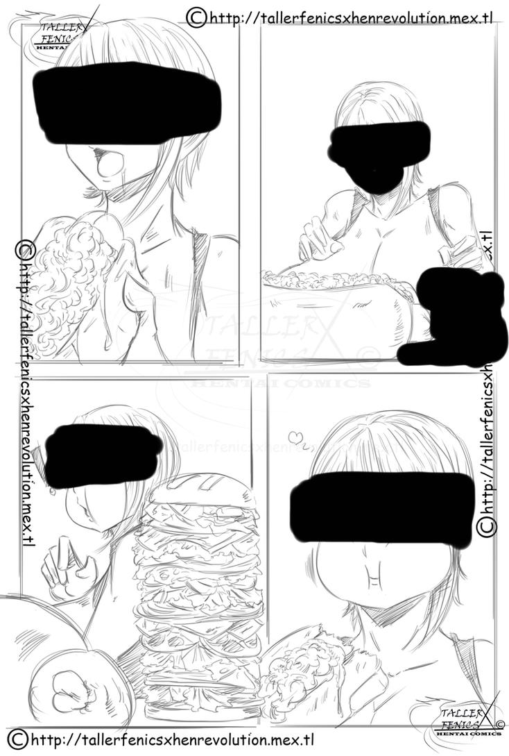 Erina Hungry Competition   2   EBOOK 58 by Dragonicxs
