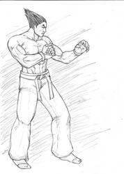 Kazuya Tekken tag 2 practice