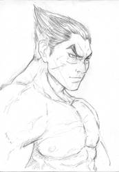 Kazuya  Tekken pencil