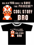 Clothing graphic - Cool story bro