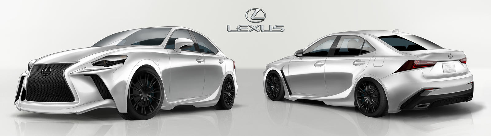 Lexus IS Design by AdamRoush