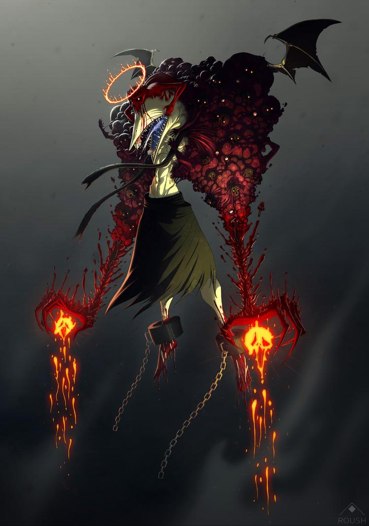Angel of Despair by AdamRoush