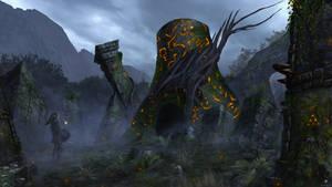 Zelda: Breath of the Wild Shrine by AdamRoush