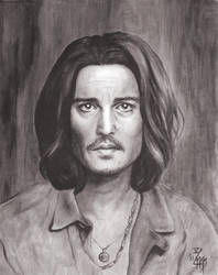 Johnny Depp No.6 by luisemaxeiner