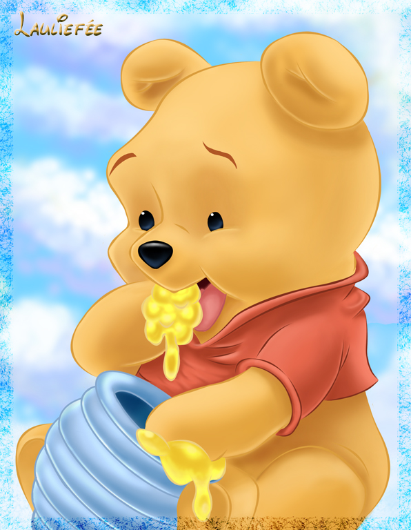 Winnie the pooh by laurine tellier on deviantart winnie the pooh by laurine tellier voltagebd Image collections