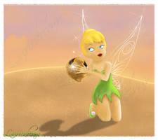 Disney Fairies - Tinkerbell by Laurine-Tellier