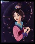 Mulan - Coloring Page