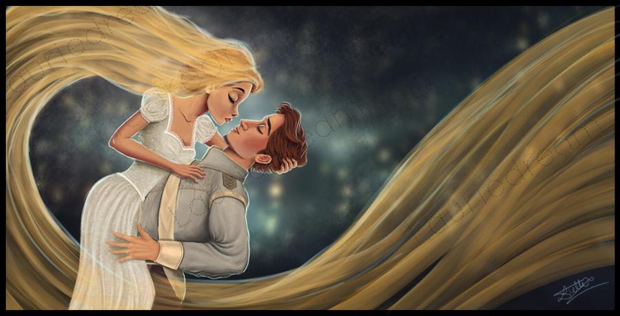Rapunzel and Flynn - Wedding