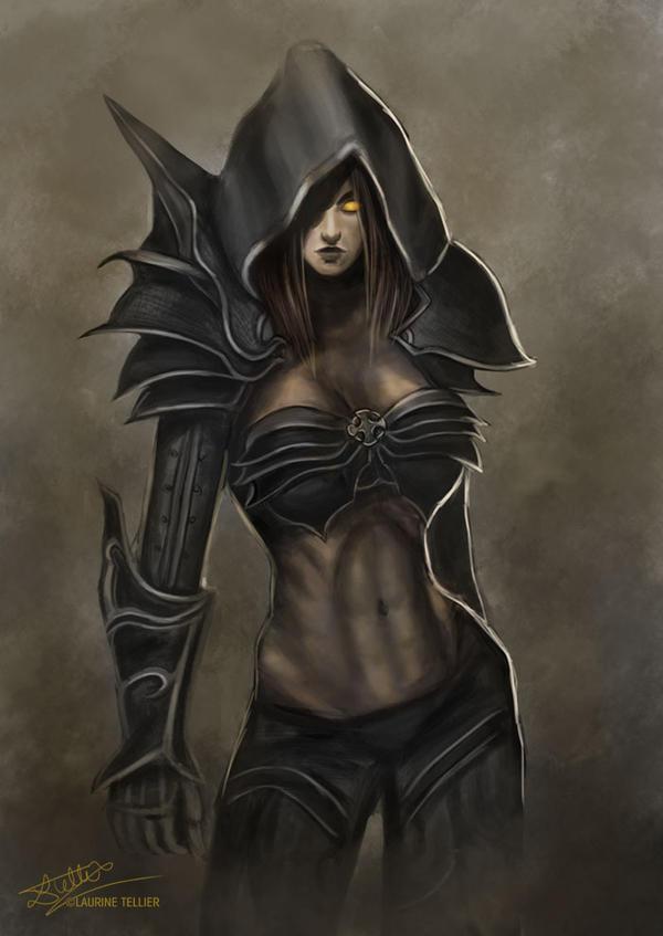 Diablo III - Demon Hunter by Laurine-Tellier