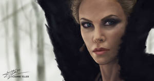 Queen Ravenna - Charlize Theron