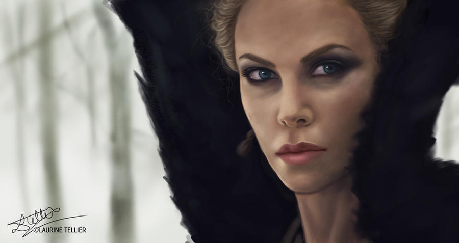 Queen Ravenna - Charlize Theron by Laurine-Tellier