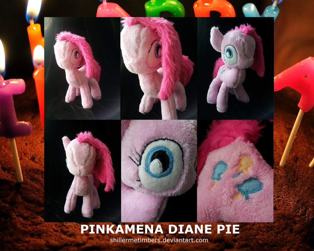 MLP FiM: Pinkamena Diane Pie Plush by shillermetimbers