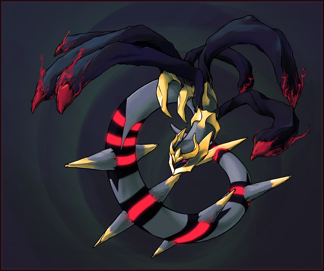 Giratina by aocom on DeviantArt