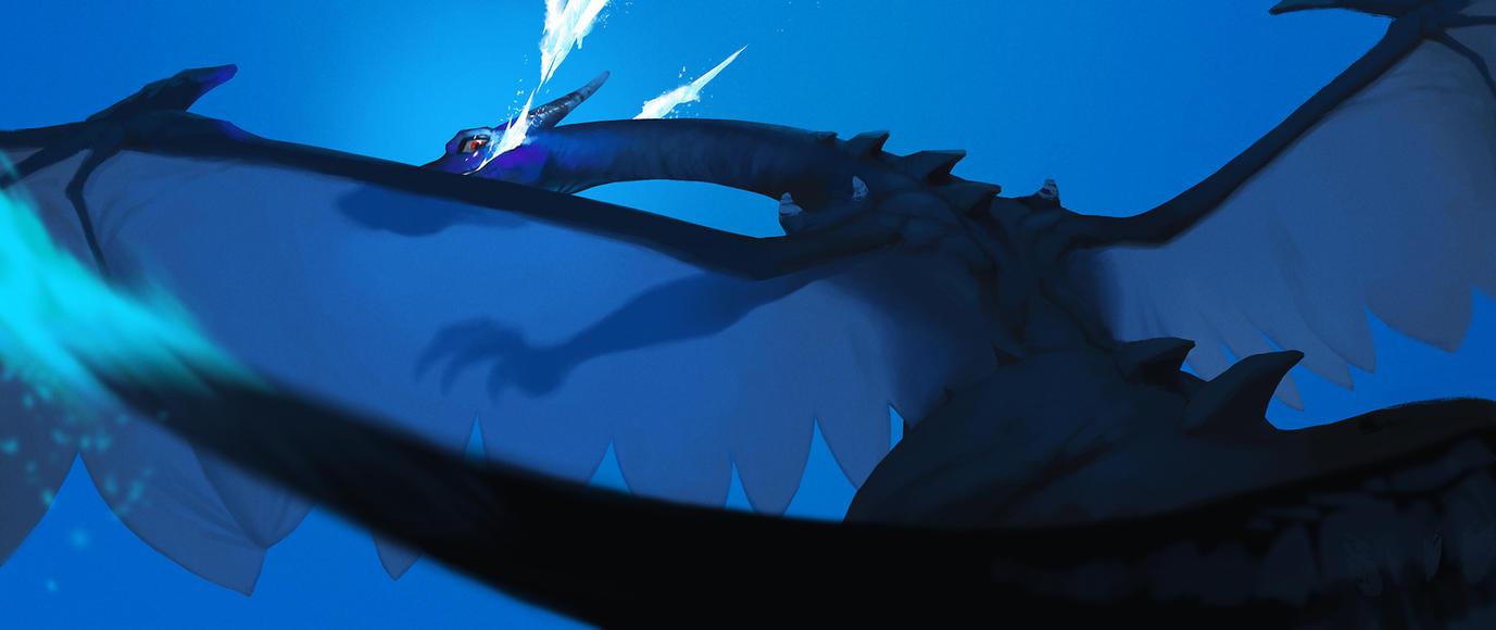 Mega Charizard X by aocom