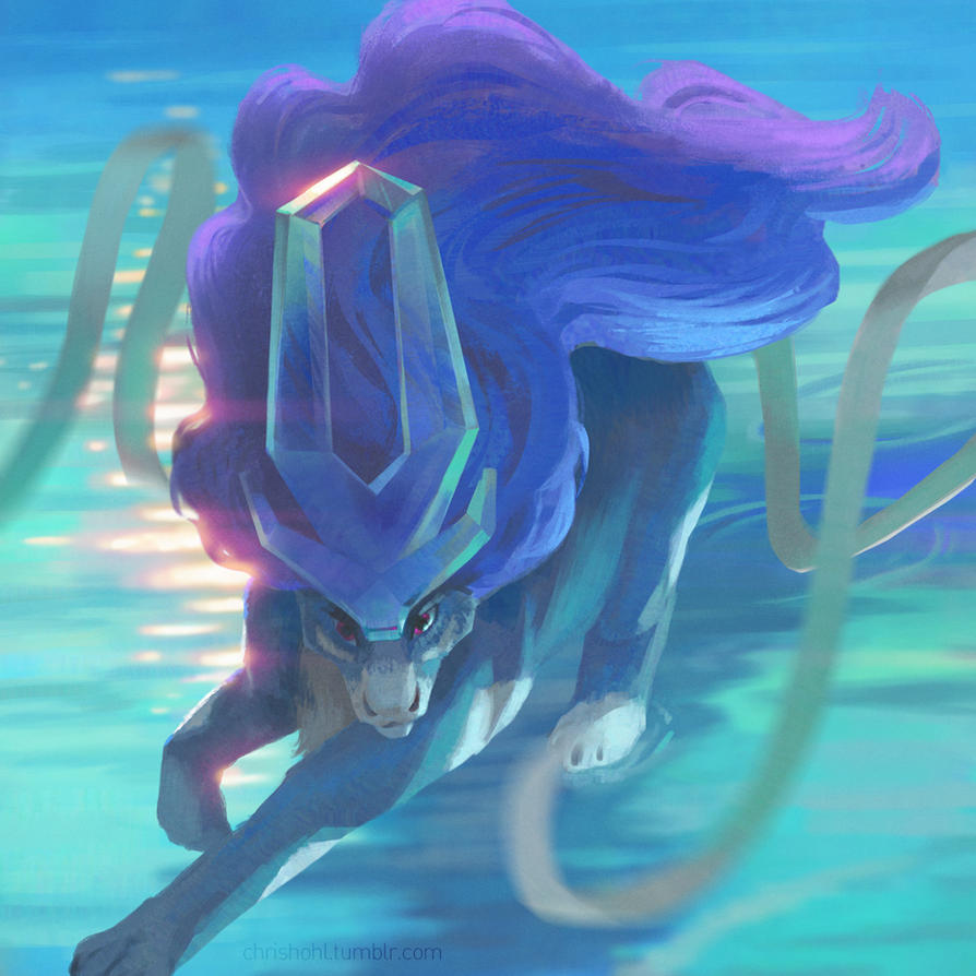 Suicune by aocom